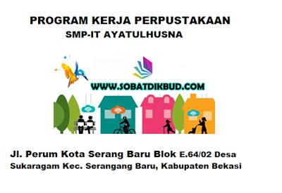 Download Contoh Program Kerja Perpustakaan SMP/MTs