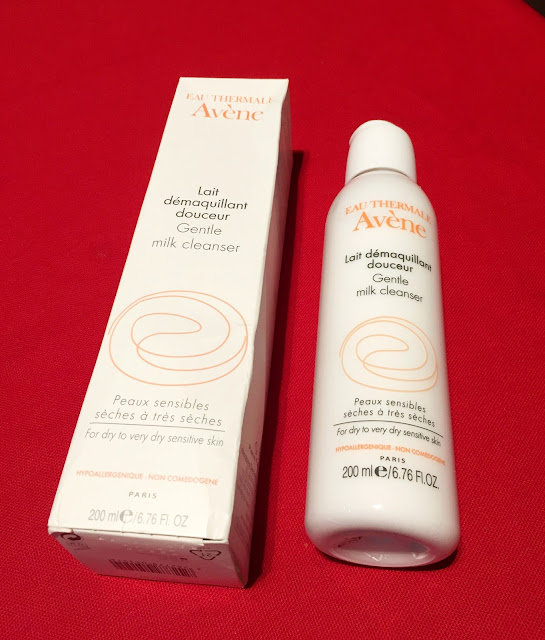 Favourite Cosmetic of the Month Avene Milk Cleaner