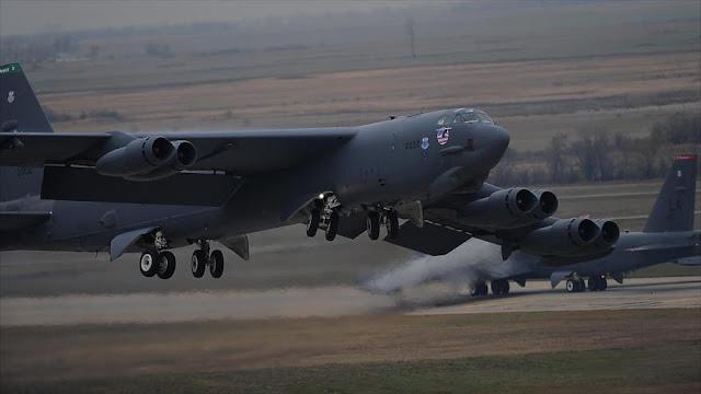EEUU inicia simulacro de guerra nuclear con bombarderos y misiles