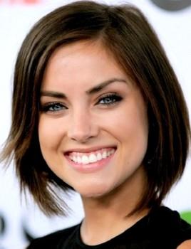 Gaya rambut pendek wanita untuk wajah oval