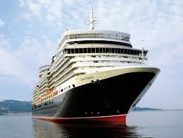 Cunard Line's Queen Elizabeth Embarks World Cruise Passengers in NYC.