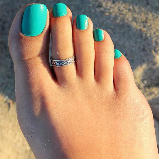 Amazing Feet Rings-9826