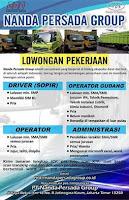 Lowongan Kerja PT. Nanda Persada Group