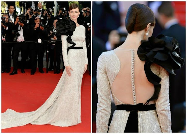 Paz Vega in Ralph & Russo – 'A Fistful of Dollars' Cannes Film Festival Screening & Closing Ceremony