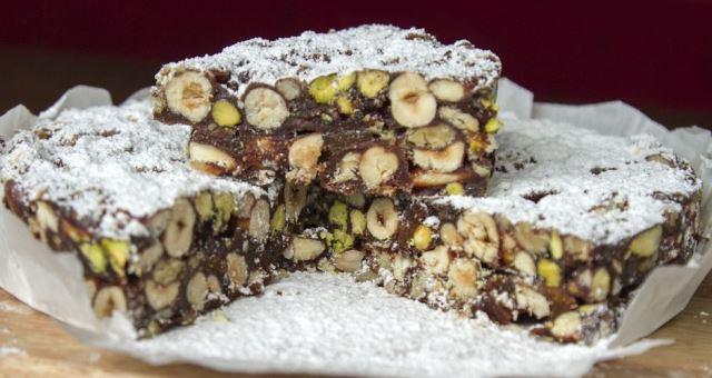 Panforte με σοκολάτα