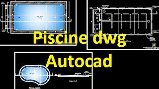 Piscine dwg autocad example cours g nie civil outils for Arredi spogliatoi dwg