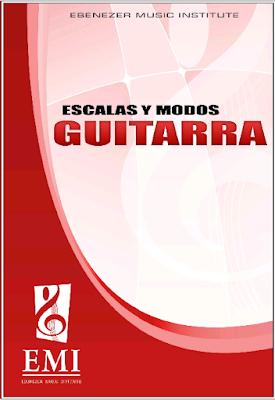 Libro escalas y modos para guitarra