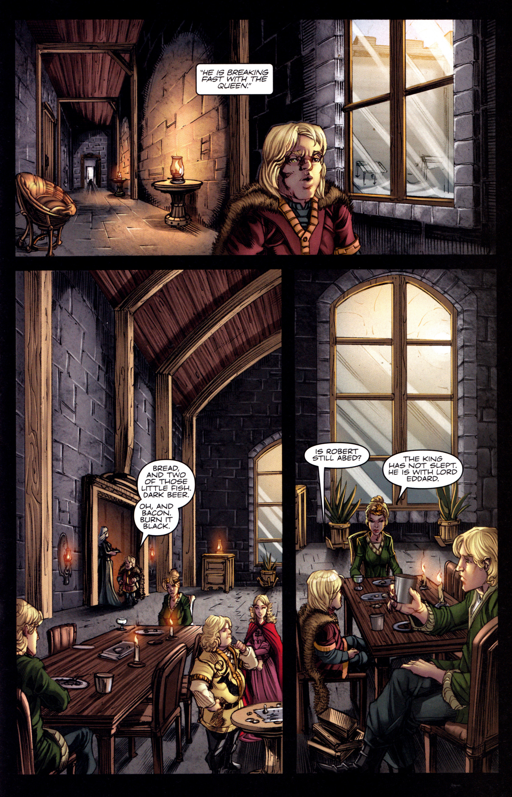 Read online A Game Of Thrones comic -  Issue #3 - 19