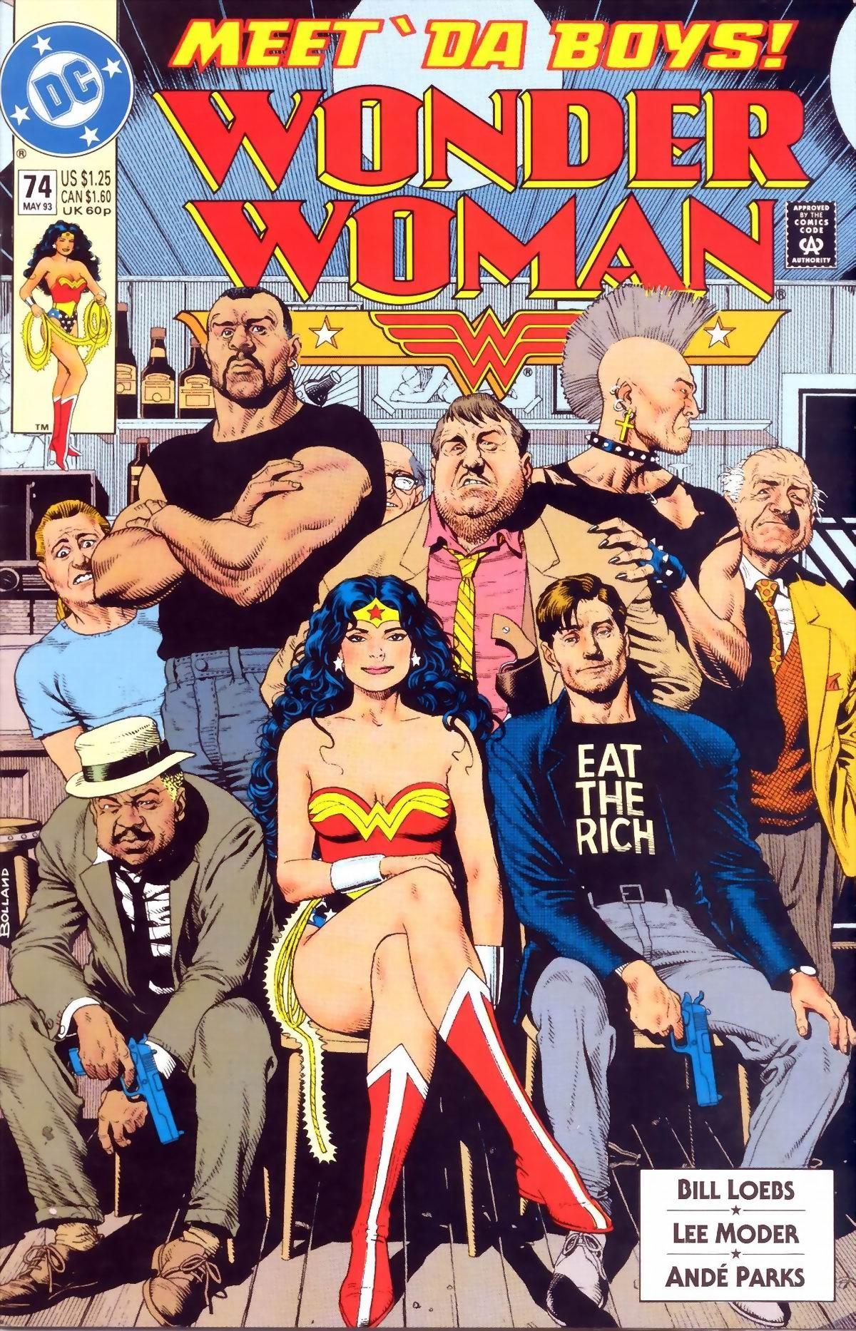 Read online Wonder Woman (1987) comic -  Issue #74 - 1