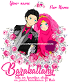 Islamic Couple Cartoon HD 010
