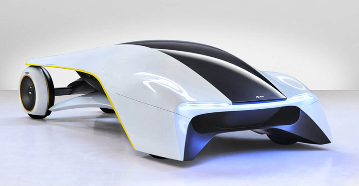 elektrikli konsept araba resimleri