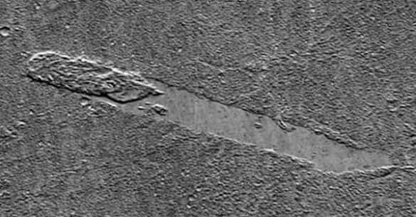 Bebatuan Juga Berjalan Di Planet Mars