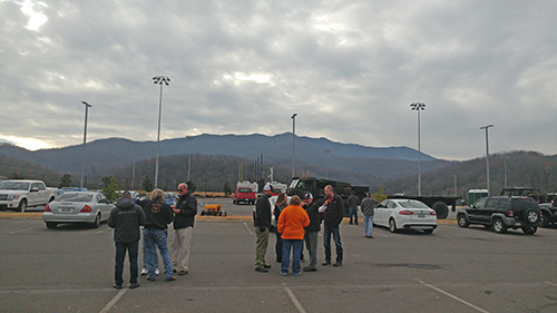 Gatlinburg wildfire 2016 Operation BBQ Relief Deployment