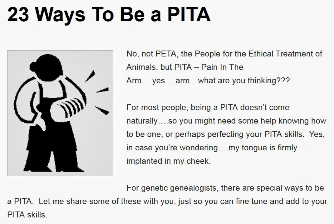 http://dna-explained.com/2014/03/16/23-ways-to-be-a-pita/