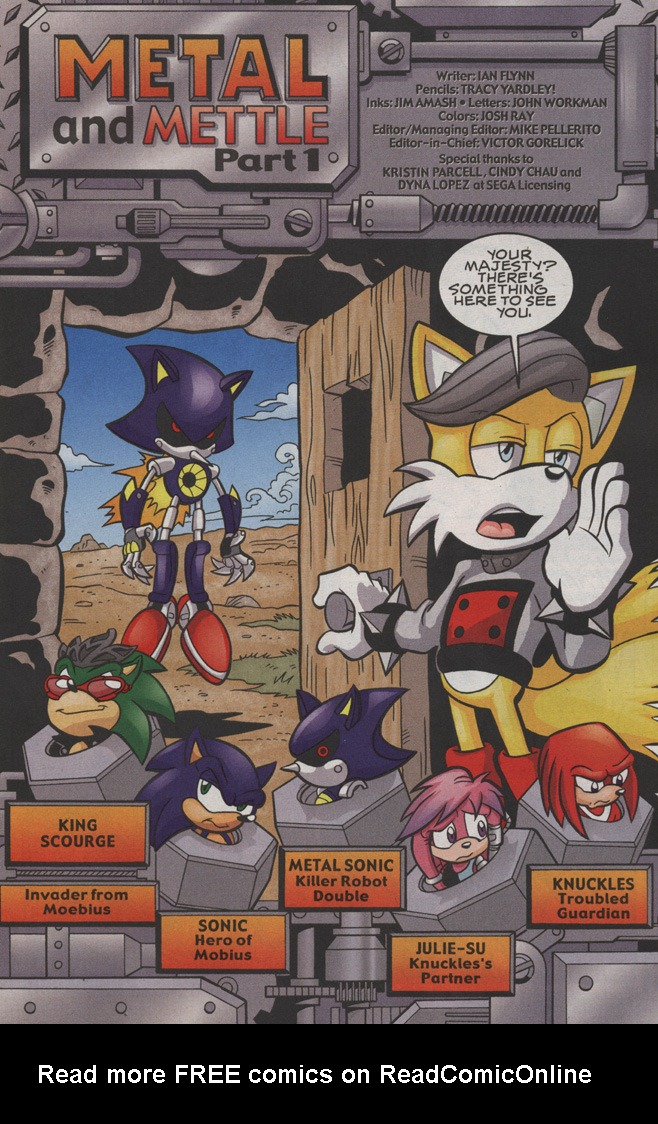 Read online Sonic The Hedgehog comic -  Issue #191 - 2