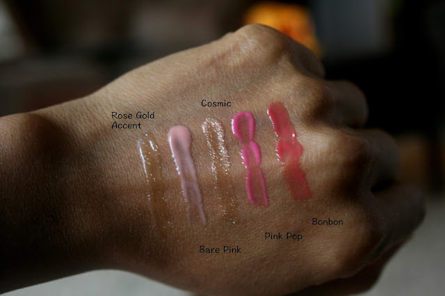 Laura Mercier Starlights Mini Lip Glace Collection