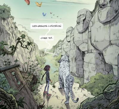 Ninn tome 2 - Ninn et le tigre arrivent dans les Grands Lointains