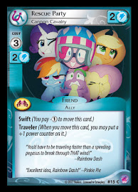 My Little Pony Rescue Party, Cannon Cavalry Seaquestria and Beyond CCG Card