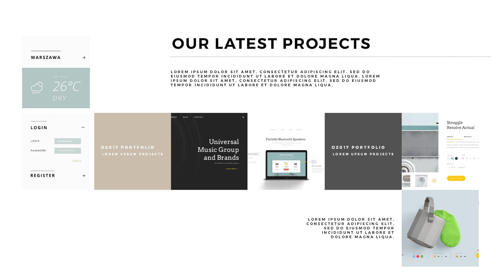 ppt template for project presentation