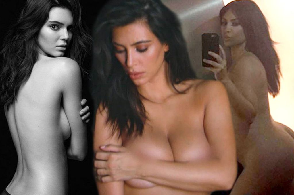 Celebrity nude and famous kardashian