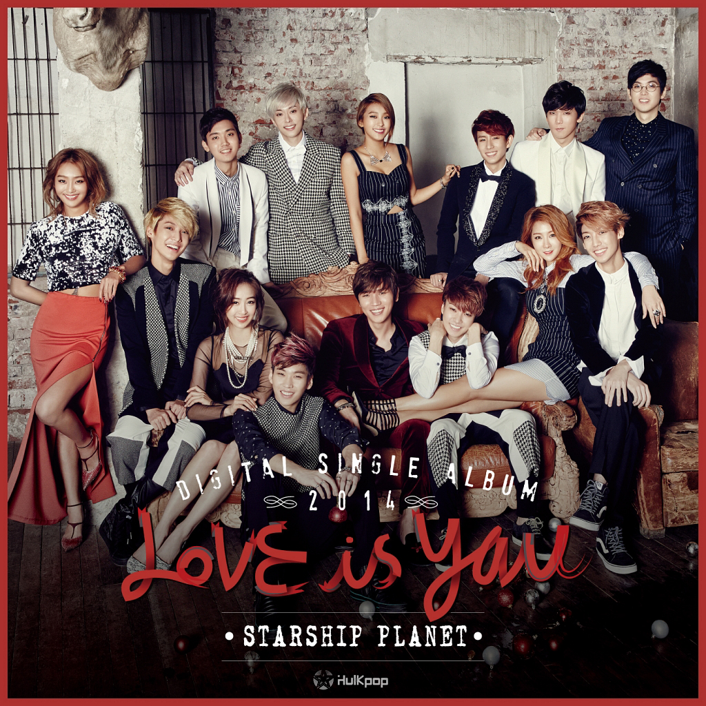 K.will, Sistar, Junggigo, Mad Clown, BOYFRIEND, Joo Young – Starship Planet 2014 (Love Is You)