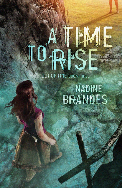 Cover reveal for A Time to Rise: Nadine Brandes' finale to her fast-paced dystopian trilogy.  Don't forget to enter the giveaways!