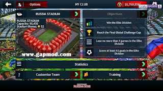 Download Dream League Soccer DLS 2019 Mod Russia World Cup 2018