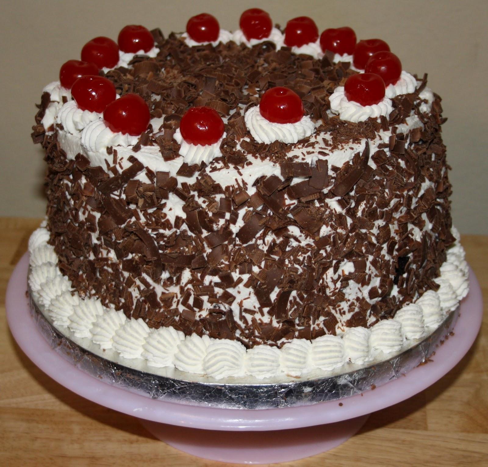 Black Forest Cake Recipe Dishmaps