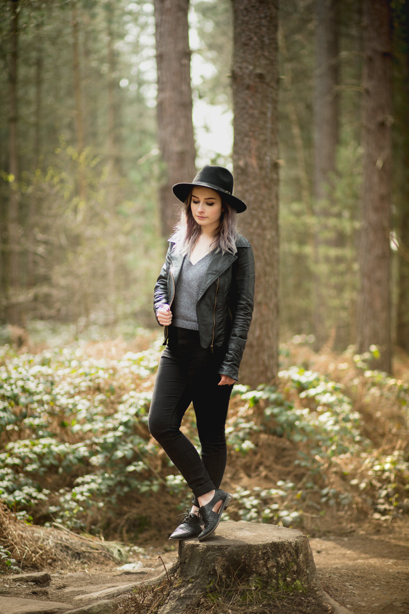 primark outfit fashion blogger ootd in the forest sherwood pines