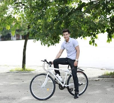 Xe đạp địa hình Shika SK1 trắng