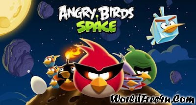 Cover Of Angry Birds Space V.1.0.0 (2012) Full Pc Game Free Download At worldofree.co