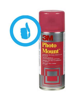 spray adhesivo 3m para fotos photo mount