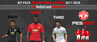 Kitpack Manchester United 2017-2018 by ReQzO and Nikita23K