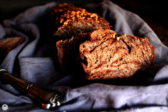 Chocolate Rye Bread 006