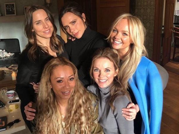 Spice girls comeback ingen hit