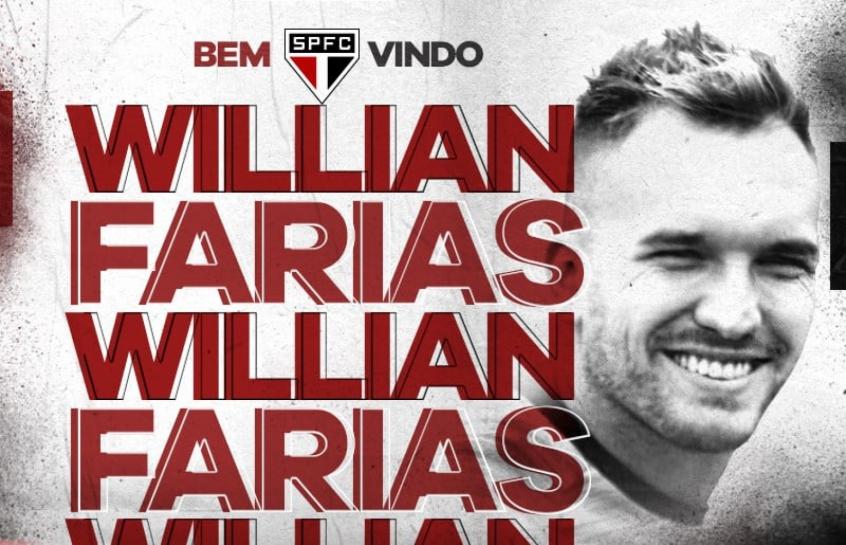 O volante Willian Farias b4ca179510c0c