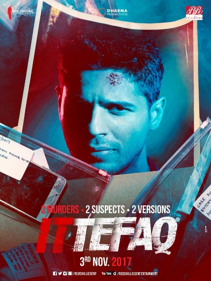 Sidharth Malhotra, Sonakshi Sinha, Akshaye Khanna Hindi movie Ittefaq 2017 wiki, full star-cast, Release date, Actor, actress, Song name, photo, poster, trailer, wallpaper