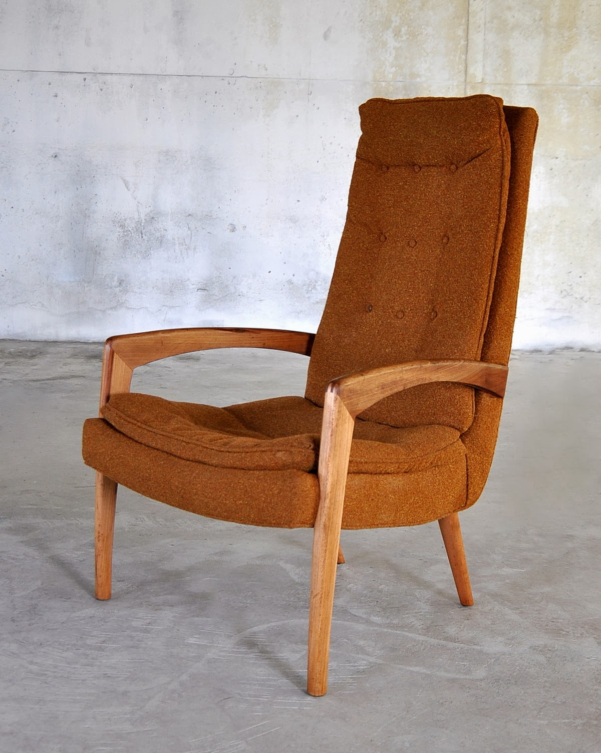 Outstanding High Back Lounge Chairs Vintage For Sale At 1Stdibs Camellatalisay Diy Chair Ideas Camellatalisaycom