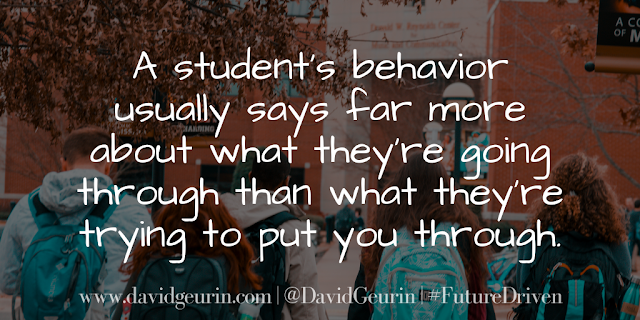 The @DavidGeurin Blog: The Importance of Teaching the Behaviors You Want to See