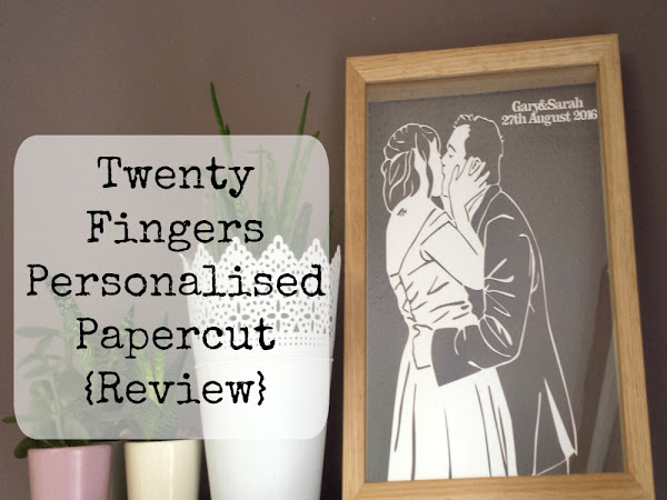 Twenty Fingers Personalised Papercut {Review + Giveaway}