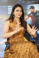 Rakul Preet Singh smiling Beautyin Brown Deep neck Sleeveless Gown at her interview 2.8.17 ~  Exclusive Celebrities Galleries 107.JPG