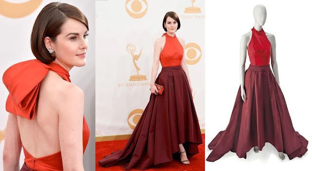 Michelle Dockery in Prada – 2013 Emmy Awards