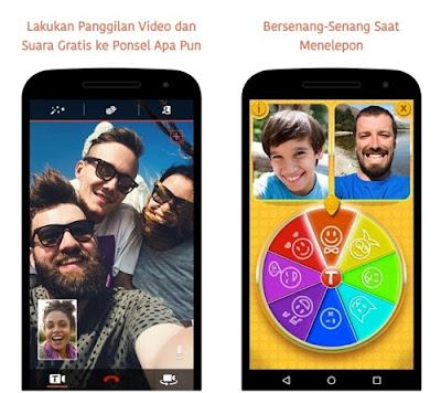 aplikasi video call tango