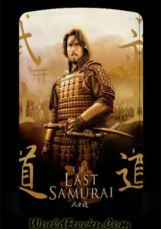 Poster Of Free Download The Last Samurai 2003 300MB Full Movie Hindi Dubbed 720P Bluray HD HEVC Small Size Pc Movie Only At worldfree4u.com