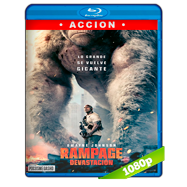 Rampage: Devastación (2018) Full HD 1080p Audio Dual Latino-Ingles