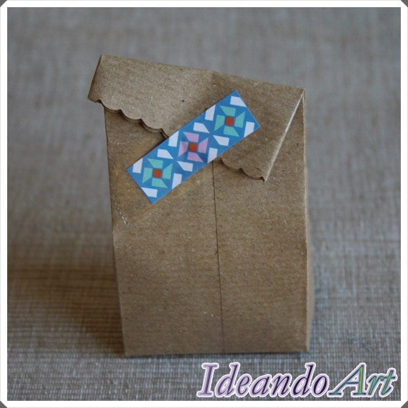 Bolsita papel craft