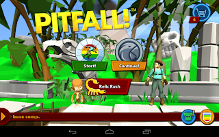 Pitfall! app for android