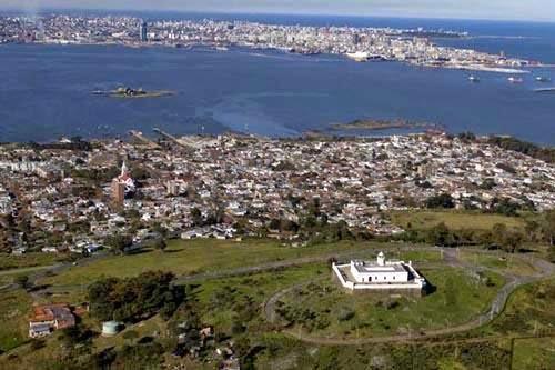 Resultado de imagen para cerro mdeo vista panoramica del cerro de montevideo