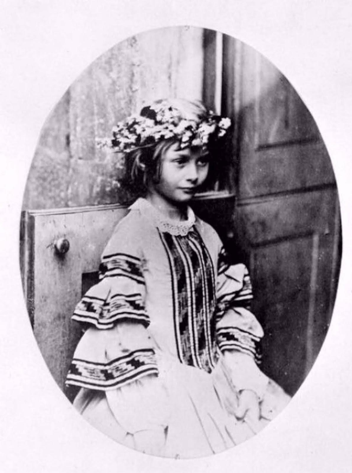 Alice Liddell, 1859.