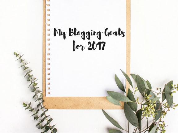 My Blogging Goals for 2017 - REVISITED!!!!